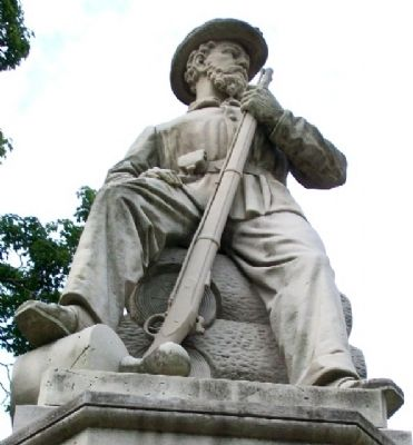 Meigs County Civil War Memorial Statue image. Click for full size.