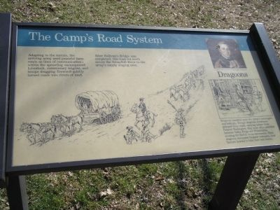 The Camp�s Road System Marker image. Click for full size.