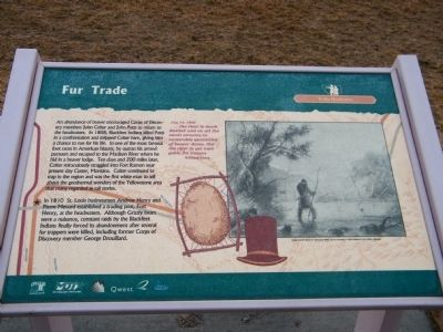 Fur Trade Marker image. Click for full size.