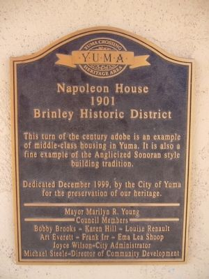 Napoleon House Marker image. Click for full size.