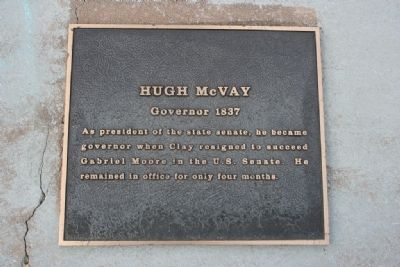 Hugh McVay Marker image. Click for full size.