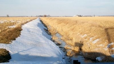 Tighe Ditch in former Hog-Creek Marsh image. Click for full size.