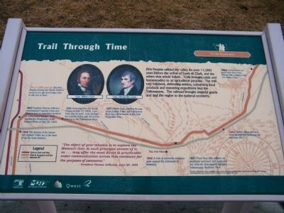 Trail Through Time Marker image. Click for full size.