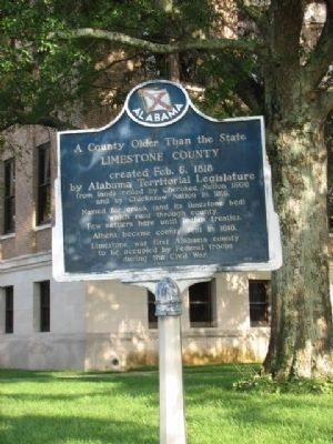 Limestone County Marker image. Click for full size.