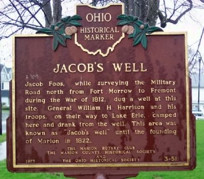 Jacob's Well Marker Photo, Click for full size