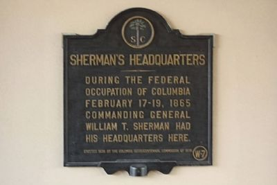 Sherman's Headquarters Marker Photo, Click for full size