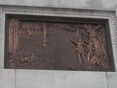 Relief on East Side of Monument image. Click for full size.