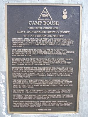 Camp Bouse Marker image. Click for full size.