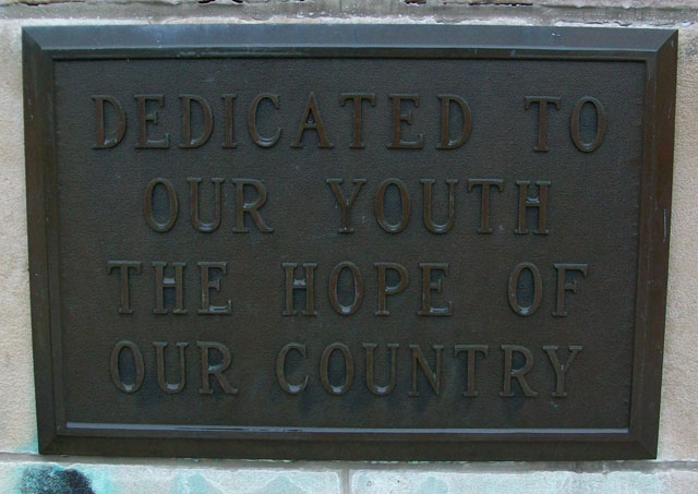 Former High School Dedication to Youth