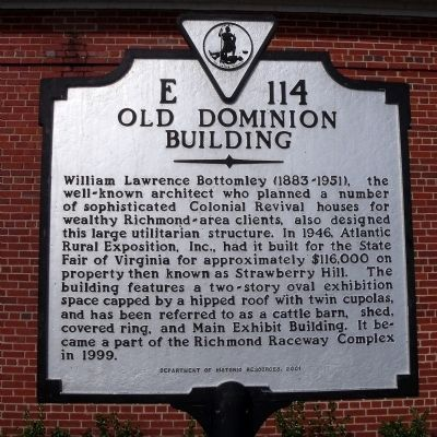Old Dominion Building Marker image. Click for full size.