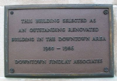 Outstanding Renovated Building Marker image. Click for full size.