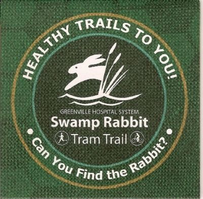 Swamp Rabbit Tram Trail Emblem image. Click for full size.
