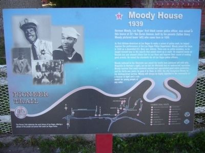 Moody House Marker image. Click for full size.