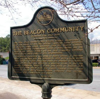 The Beacon Community Marker - Side 2 image. Click for full size.