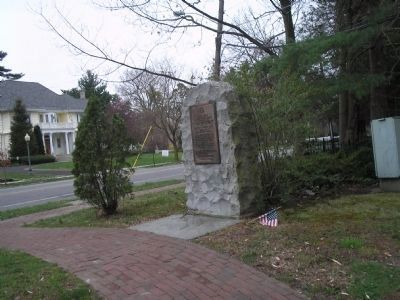 Marker in Haddonfield image. Click for full size.