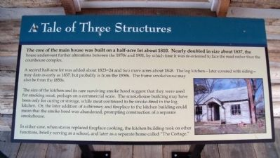 A Tale of Three Structures Marker image. Click for full size.