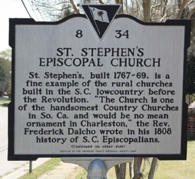 St. Stephens Episcopal Church Marker Photo, Click for full size