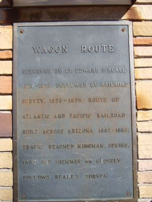 Wagon Route Marker image. Click for full size.