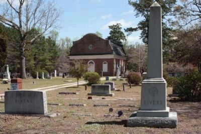 at St.Stephen Episcopal Church Cemetery, at right reads: image. Click for full size.