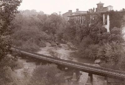 Swamp Rabbit Railroad Crossing the Reedy River image. Click for full size.