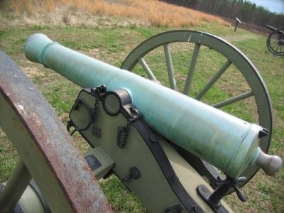 Model 1841 6-pdr Field Gun Photo, Click for full size