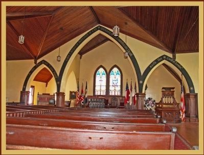 Confederate Memorial Chapel Arches, Dedication to 260,000 Confederate Dead Photo, Click for full size