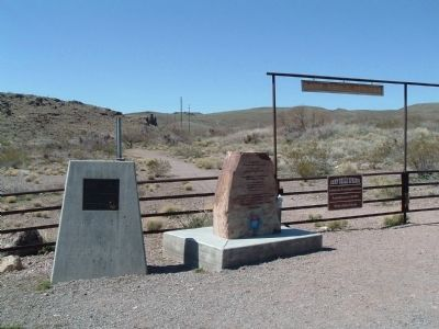 Camp Beale Springs Arizona and Ha' Qa' Muwe: Markers Photo, Click for full size