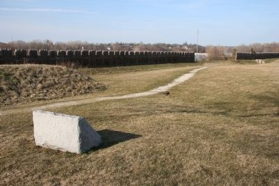 Major Amos Stoddard Marker image. Click for full size.