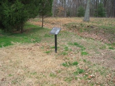 The Confederate High Water Mark Marker image. Click for full size.