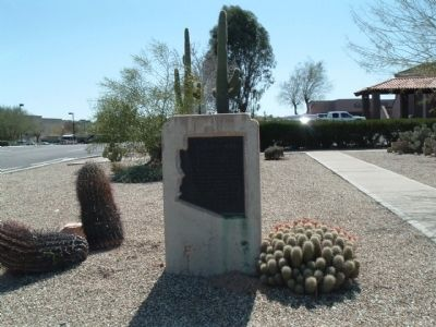 Vulture Mine Marker Photo, Click for full size