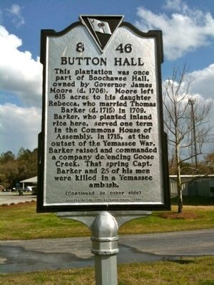 Button Hall Marker (front) image. Click for full size.