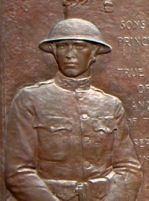 Detail of Bronze Monument image. Click for full size.