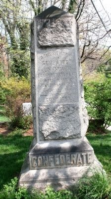 Confederate Memorial at Grace Church Photo, Click for full size