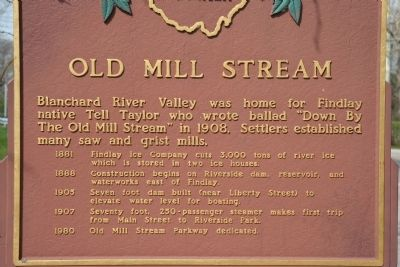 Old Mill Stream Marker image. Click for full size.