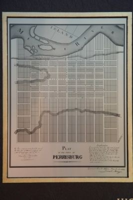 Perrysburg Plat Map Marker image. Click for full size.