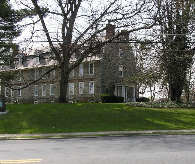 Wide view of the Whitefield House Marker image. Click for full size.