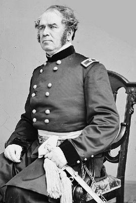 Brigadier General Henry Washington Benham. USA image. Click for full size.