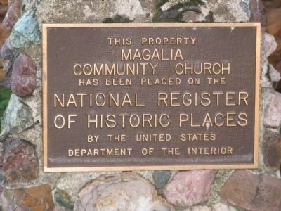 Upper Marker - Magalia Community Church image. Click for full size.