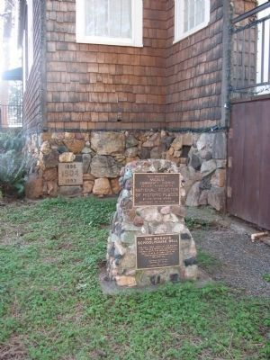 Magalia Community Church and Schoolhouse Bell Markers image. Click for full size.