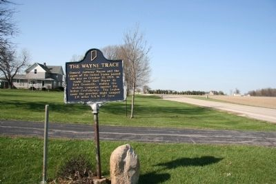 The Wayne Trace Marker image, Click for more information