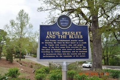 Elvis Presley and the Blues Marker Photo, Click for full size