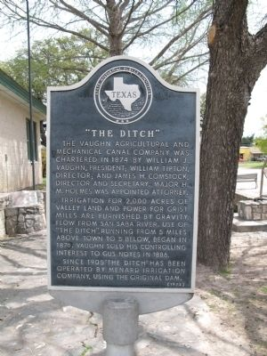 The Ditch Marker image. Click for full size.