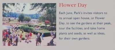 Park�s -<br>Flower Day image. Click for full size.