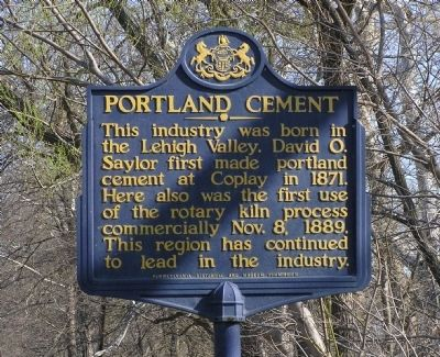 Portland Cement Marker image. Click for full size.