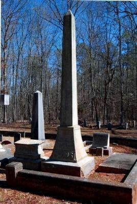 Nathan George Evans (1824-1868)<br>Tombstone image. Click for full size.