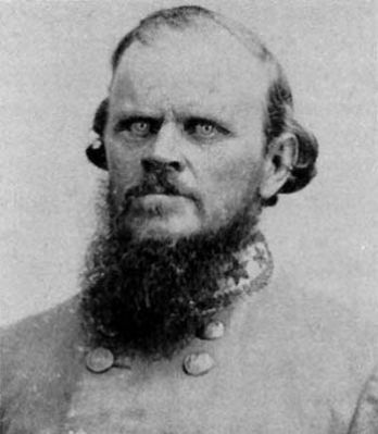 "Nathan George ""Shanks"" Evans<br>1824&#8211;1868 image. Click for full size."