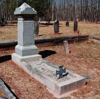 Martin Witherspoon Gary (1831-1881) Tombstone image. Click for full size.