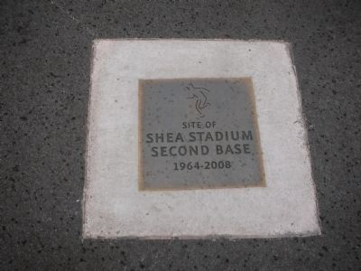 Location of Shea Stadium Second Base image. Click for full size.