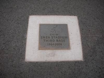 Location of Shea Stadium Third Base image. Click for full size.