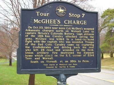 McGhee's Charge Marker Photo, Click for full size